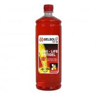 Antigel concentrat Gelsol G12, tip D, rosu, 1 l