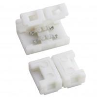 Element de conexiune liniara pentru banda LED cu 128 LED-uri / m, 8 mm, Arelux Xtape ST04LC8, set 5 buc