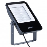 Proiector LED asimetric Philips Ledinaire BVP155, 100W, 10000lm, lumina neutra, IP65, gri
