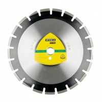 Disc diamantat, segmentat, pentru debitare asfalt, Klingspor DT 350 A, 400 x 25.4 x 3.6 mm