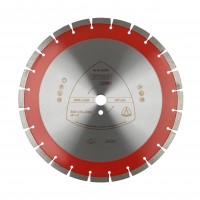 Disc diamantat, continuu, pentru debitare beton, Klingspor DT 350 B, 400 x 25.4 x 3.6 mm