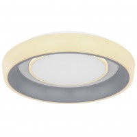 Plafoniera LED Tabano 48272-46, 46W, dimabila, lumina calda / rece, telecomanda, alb + antracit