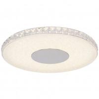 Plafoniera LED Denni 49336-24R, 24W, 1600lm, lumina neutra, argintiu + opal
