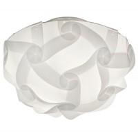 Plafoniera Glory R60561001, 1 x E27, nichel mat + alb
