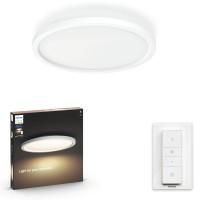 Plafoniera LED Hue Aurelle 3216431P6, 24.5W, 2200lm, lumina calda / rece, alba