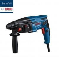 Ciocan rotopercutor cu 3 functii, Bosch Professional GBH 220, 720 W