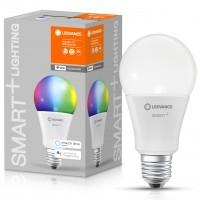 Bec inteligent LED Ledvance, wi-fi, clasic A100, E27, 14W, 1521lm, lumina calda / rece / RGB, dimabil