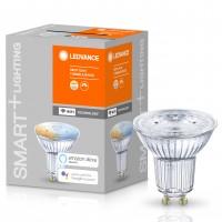 Bec inteligent LED Ledvance, wi-fi, spot, GU10, 5W, 350lm, lumina calda / rece, dimabil