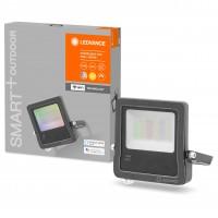 Proiector inteligent LED Ledvance, wi-fi, 30W, 2190lm, lumina calda / RGB, exterior IP65