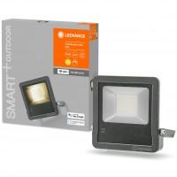 Proiector inteligent LED Ledvance, wi-fi, 50W, 4250lm, lumina calda, exterior IP65