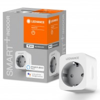 Priza inteligenta Ledvance, wi-fi, 2300W, 10A, programabila, contor energie, alba