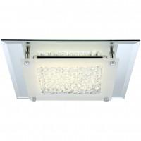 Plafoniera LED Liana 49300, 12W, crom + satin