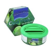 Odorizant auto gel Shaldan Cool Fresh, conserva, lime