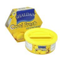 Odorizant auto gel Shaldan Cool Fresh, conserva, lemon