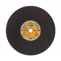 Disc diamantat continuu, pentru taiere otel / inox / aluminiu / fonta, Klingspor A 630 N Supra, 356 x 25.4 x 2.5 mm