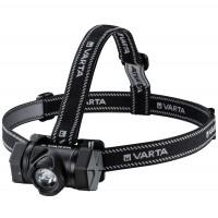 Lanterna LED frontala indestructibila Varta H20, 4W, 350 lm, 2 moduri de iluminare