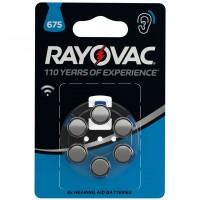 Baterii auditive Varta Rayovac 675 A, 6 buc
