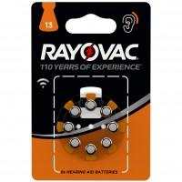 Baterii auditive Varta Rayovac V13, 8 buc