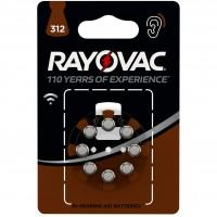 Baterii auditive Varta Rayovac V312, 8 buc