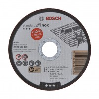 Disc debitare inox, Bosch Standard for Inox, 115 x 22.23 x 1.6 mm