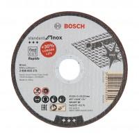 Disc debitare inox, Bosch Standard for Inox, 125 x 22.23 x 1 mm