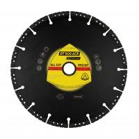 Disc diamantat, cu segmente, pentru debitare beton / materiale de constructie, Klingspor DT 900 ACR Special, 125 x 22.23 x 2.8 mm