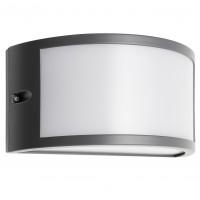 Aplica exterior LED Asti 90185, 10W, 655lm, lumina calda, IP54, gri