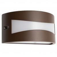Aplica exterior LED Asti 90189, 10W, 610lm, lumina calda, IP54, maro inchis