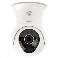 Camera supraveghere inteligenta Nedis WIFICO20CWT, IP, Wi-Fi, rezistenta la apa, Full HD 1080p