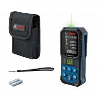 Telemetru cu laser, cu linii verzi, Bosch GLM 50-27 CG, 0601072U00