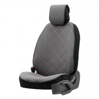 Protector scaun auto Otom Active Pro, textil, gri, 50 x 120 x 1 cm