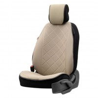 Protector scaun auto Otom Active Pro, textil, bej, 50 x 120 x 1 cm