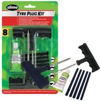 Kit Slime pentru reparat anvelope, set 8 bucati