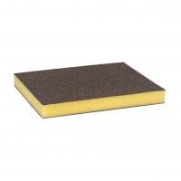 Burete abraziv, pentru slefuire vopsea / lemn / metale, Bosch 2608608230, 98 x 120 x 13 mm, granulatie fina