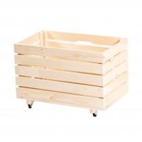 Lada depozitare, din lemn, Timi, 600 x 400 x 450 mm