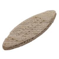 Set 50 placute, din lemn, Wolfcraft 2921000, nr 0, 45 x 15 x 4 mm
