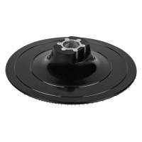 Platan pentru polizor unghiular, pentru discuri abrazive autoadezive, Wolfcraft 2285000, 125 mm