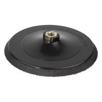 Platan pentru polizor unghiular, pentru discuri abrazive autoadezive, Wolfcraft 5618000, 180 mm