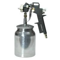 Pistol pneumatic, pentru vopsit, Stanley 150533XSTN, cu vas inferior 1 litru, 4 bari