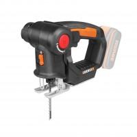 Fierastrau electric vertical, pendular, Worx WX 550.9, 20 V, fara acumulator
