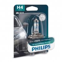 Bec auto pentru far, Philips X-tremeVision Pro150 H4, 60/55 W, 12 V