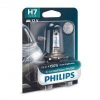Bec auto pentru far, Philips X-tremeVision Pro150 H7, 55 W, 12 V