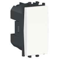 Intrerupator cu revenire Schneider Electric Easy Styl LMR0120001, incastrat, modular - 1, alb