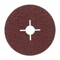 Disc abraziv, pentru metale, Bosch R444 Expert for Metal, 125 mm, granulatie 24