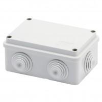 Doza derivatie aparenta Gewiss GW44005, 6 intrari, IP44, 120 x 80 x 50 mm
