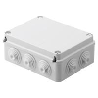 Doza derivatie aparenta Gewiss GW44007, 10 intrari, IP44, 190 x 140 x 70 mm