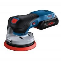 Slefuitor cu excentric, Bosch Professional GEX 18V-125, 18 V, fara acumulator
