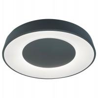 Plafoniera LED Cielo 3082, 38W, 3200lm, lumina calda / neutra / rece, cu telecomanda, negru + alb