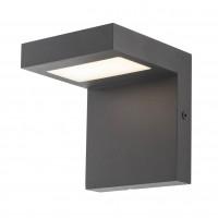 Aplica exterior LED Embo 90279, 10W, 655lm, lumina calda, IP54, gri inchis