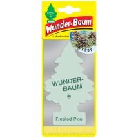 Odorizant auto, bradut, Wunder-Baum Frosted Pine, 7.6 x 0.3 x 19 cm